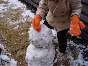 雪だるま作成