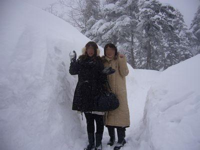 こんな雪はじめて~