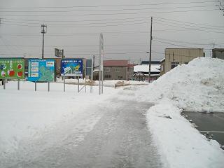 道の駅(スペース・アップルよいち)_2009-01-29