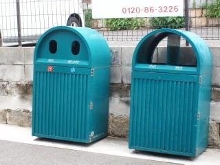 ユニークなゴミ箱(遠足)_2009-05-08