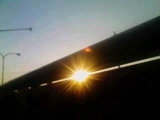 隙間からの陽射し_2009-10-29
