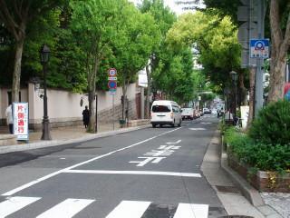 異人館の近くの坂(2)(遠足)_2009-05-08