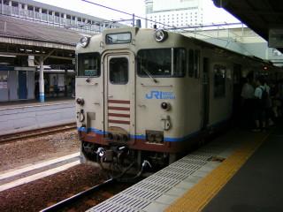 折り返し列車_2009-08-06