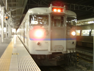 列車到着_2009-08-05