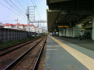 淀駅(旧下り線ホーム)(1)_2009-08-30