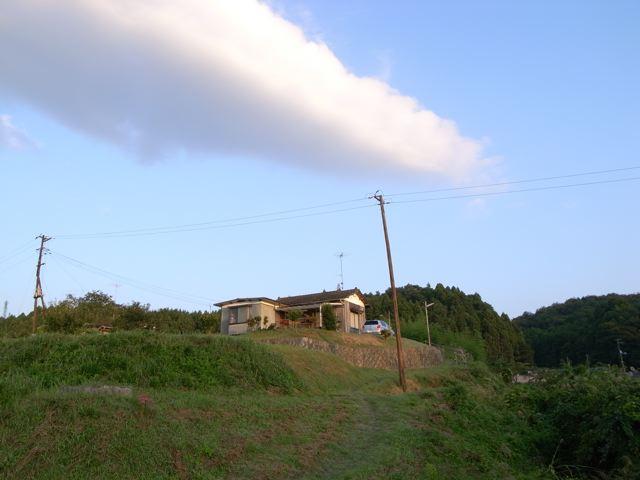 景色のいい家