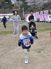 2009桜街道_スタートダッシュ