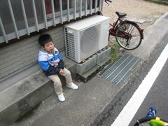 2009桜街道_休憩