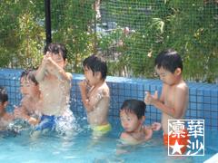 初幼稚園プール