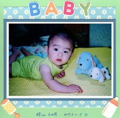 BABY 6inch作品サンプル