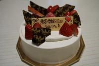 ○回目のケーキ