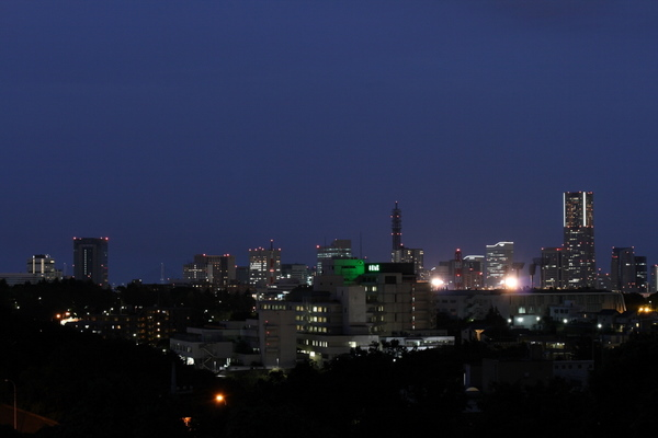 横浜駅~みなとみらいの夜景