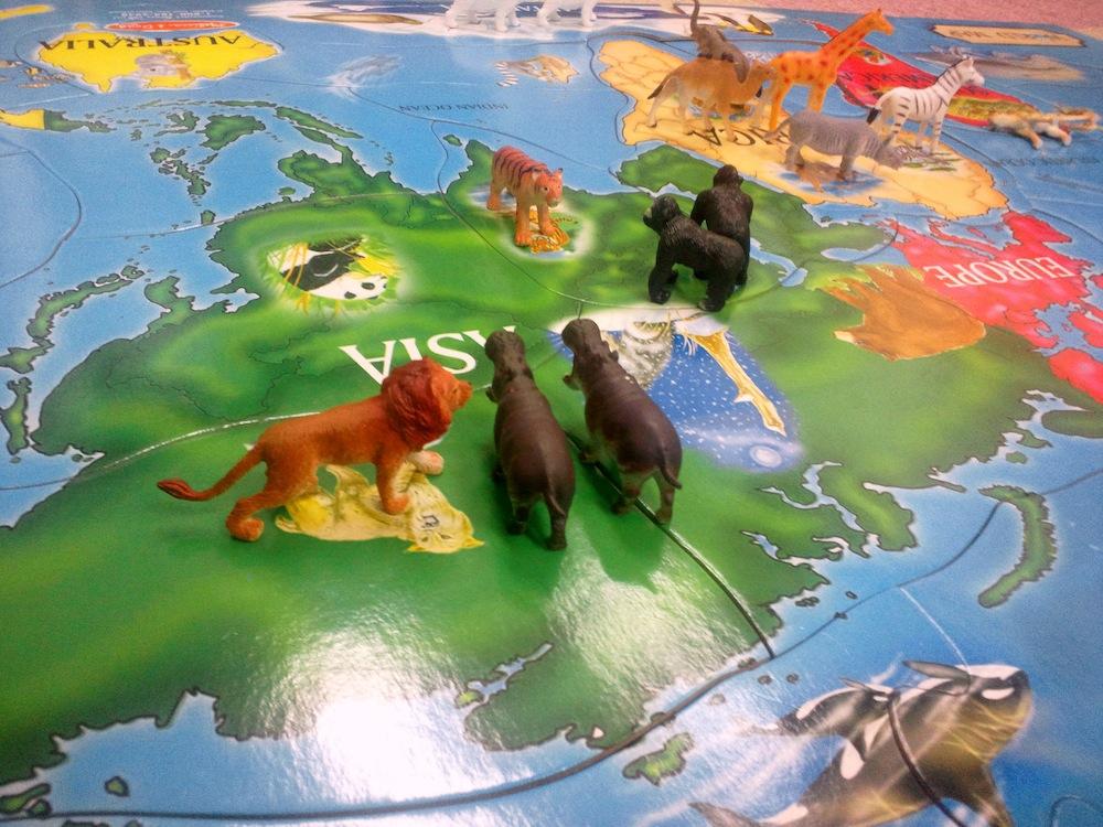 sb map animal