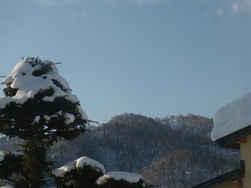 朝日 雪2