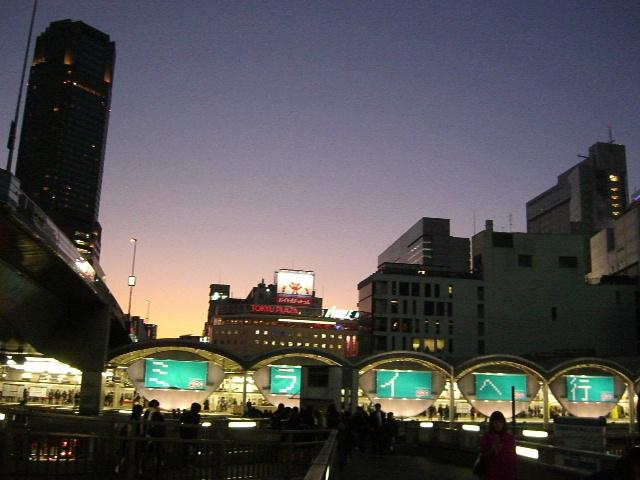 渋谷駅トワイライト