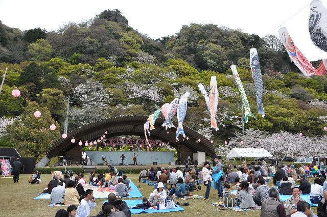 獅子ヶ鼻公園桜まつり