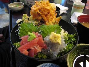 「駿河の味 どんむす」の駿河丼