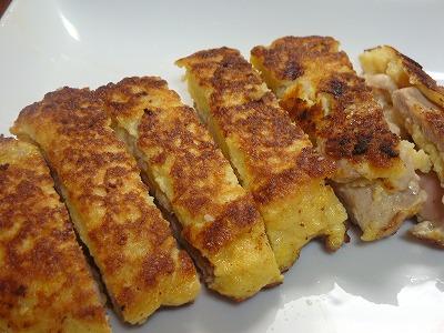 111211鶏モモ肉のふんわり卵包み焼き4