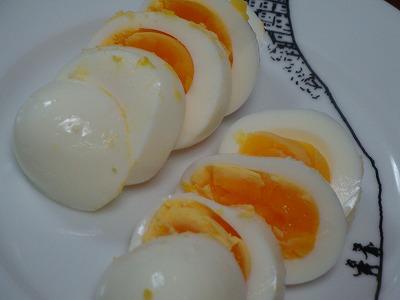 120211塩麹ゆで卵