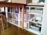 カウンター下の収納家具