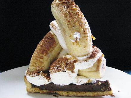 バナナタルト