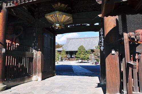 清涼寺エントランス