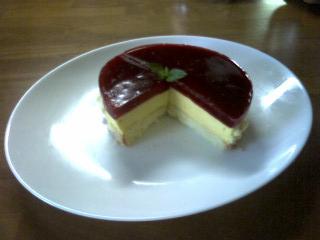 先生ケーキ