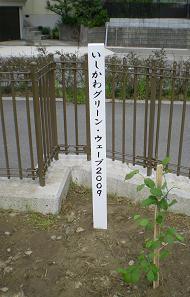 記念植樹碑