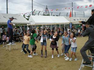 田上公民館社会体育大会楽しく開催