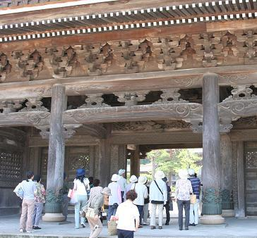 かしわき学級・瑞泉寺見学