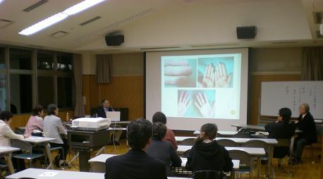 健康教室最終会・木下先生の講演