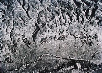 昭和22年の航空写真