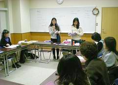 タイのメイさんが初参加、熱心な授業が・・・