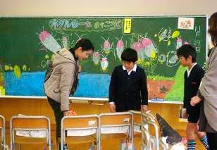 杜の里小3年生は、飼育を続けての実践発表も・・・