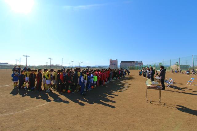 サッカー教室 2012-1-14