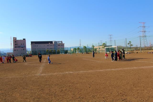 サッカー教室 2012-1-14 (1)