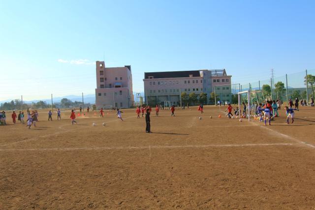 サッカー教室 2012-1-14 (2)