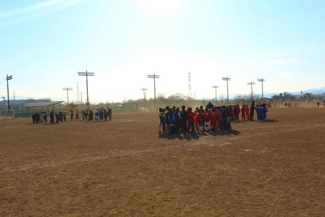 サッカー教室 2012-1-14 (3)