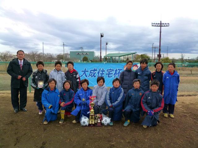 第2回大成住宅杯 優勝チーム 千代田FC