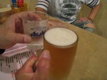 私だけビール♪