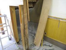トイレ作ろうと思ったら、柱腐ってる!