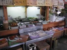 天ぷらがあんまりありません