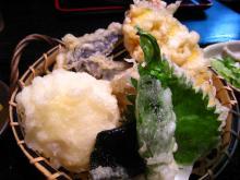 豪華な天ぷら達です