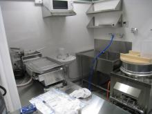厨房機器も設置