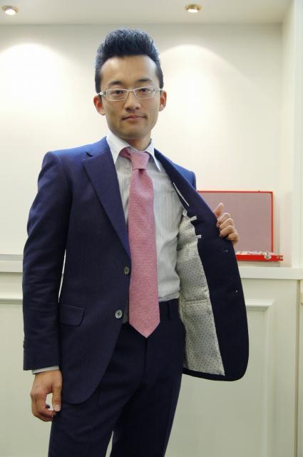 CERRUTI チェルッティ オーダースーツ名古屋