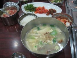 干し鱈のスープ