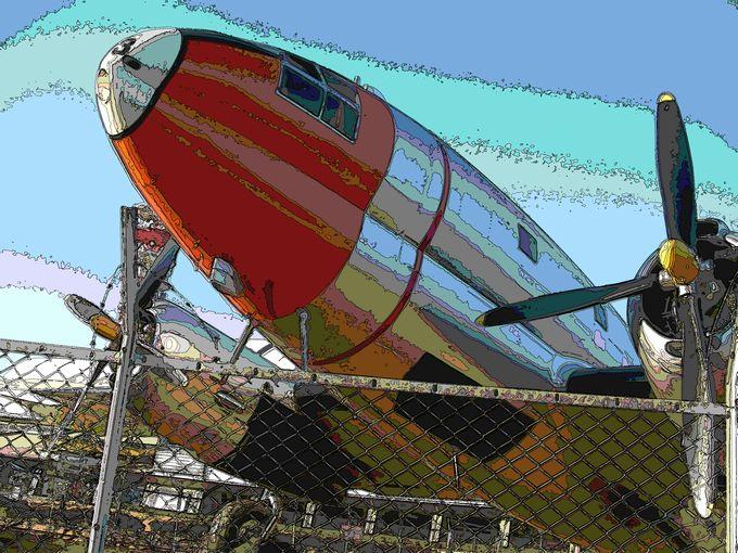 シルク飛行機02