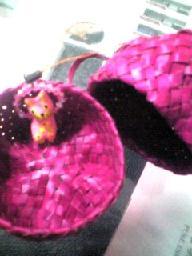 @バリのお土産のネコストラップ