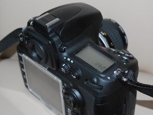D700背面液晶