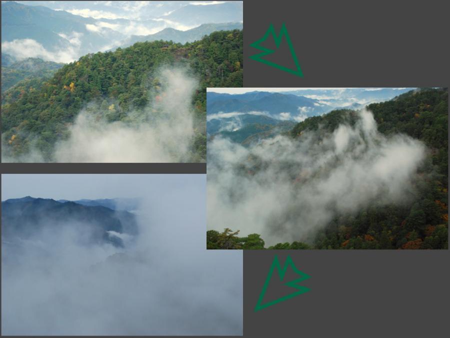 鳳来寺山の紅葉イメージ2
